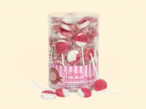 Lollipop Himbeer-Brause